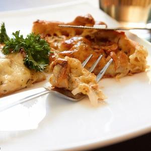 Пирог с сыром и грибами — Рецепты читателей на The Village