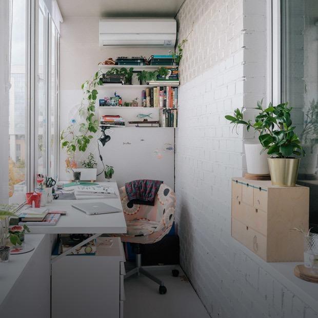 Новая старая квартира с цветными пятнами на Большой Пироговской — Квартира недели на The Village
