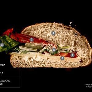 Составные части: Сэндвич «Квинс-бульвар» из пиццерии Montalto — Составные части на The Village