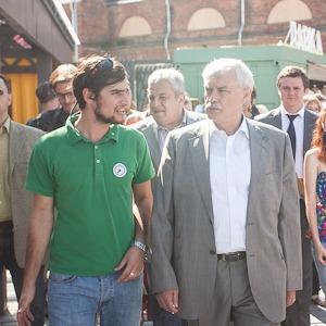 Губернатор Полтавченко посетил фермерский рынок «Лавки»