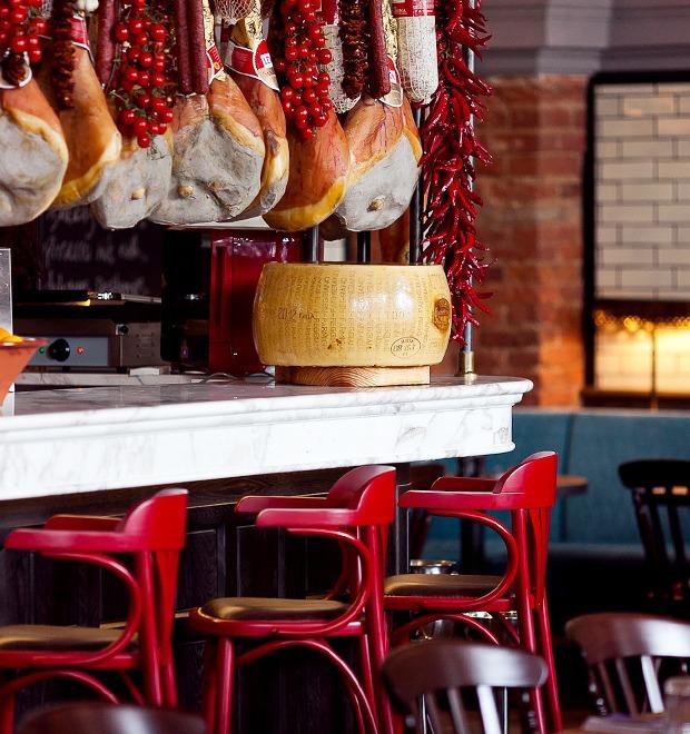 Новое место: Ресторан Jamie's Italian — Новое место на The Village