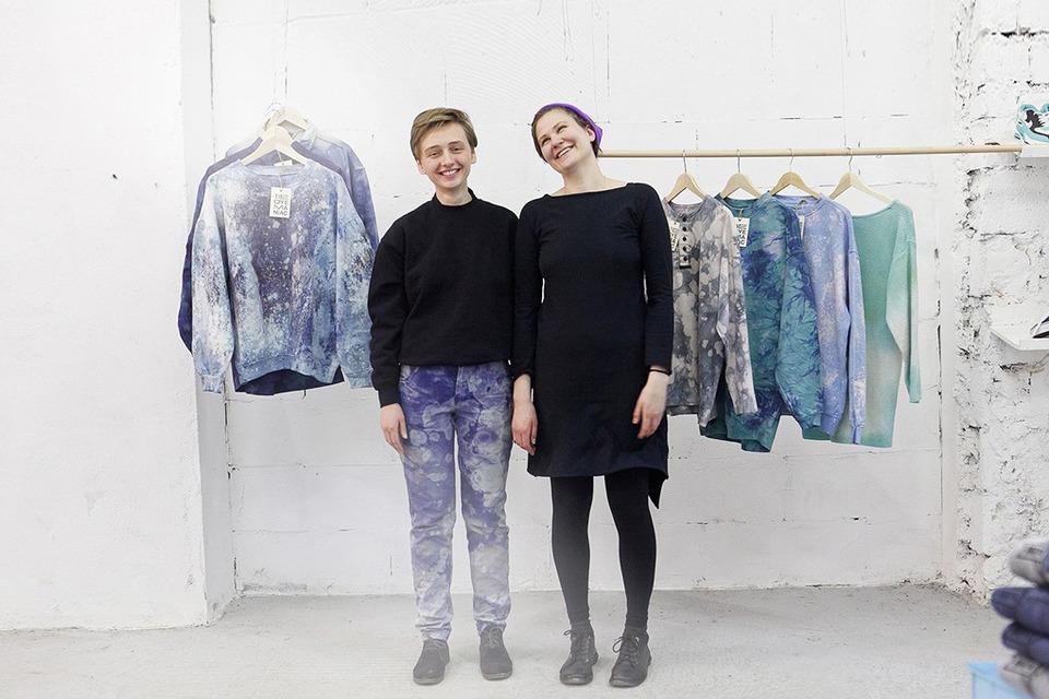 Окрашено: Как Tie-Dye Maniac делают бизнес на старой одежде — Свое место на The Village