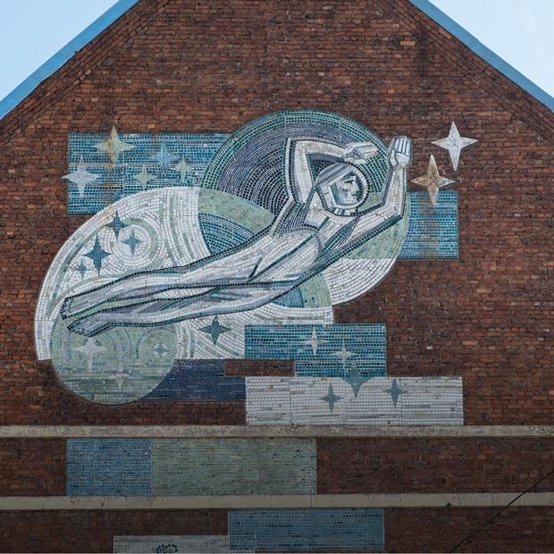 Звезды, рыбка и Победа: 10 советских мозаик Петербурга — Гид The Village на The Village