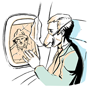 Есть вопрос: Зачем поднимать шторки иллюминаторов при взлёте и посадке?