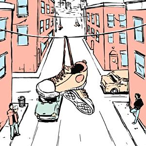 Есть вопрос: «Почему на проводах висят кроссовки?» — Есть вопрос на The Village