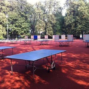 В Нескучном саду открылась площадка Ping Pong Club Moscow — Парк Горького на The Village