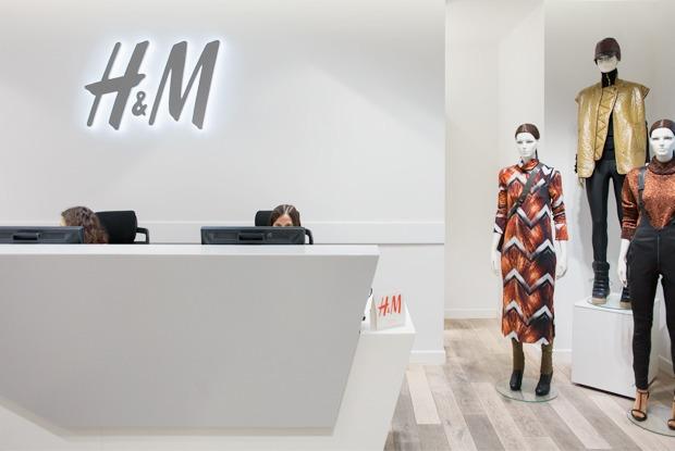 Как работают в H&M — Офис на The Village