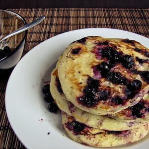 Американские блины с черникой — Рецепты читателей на The Village