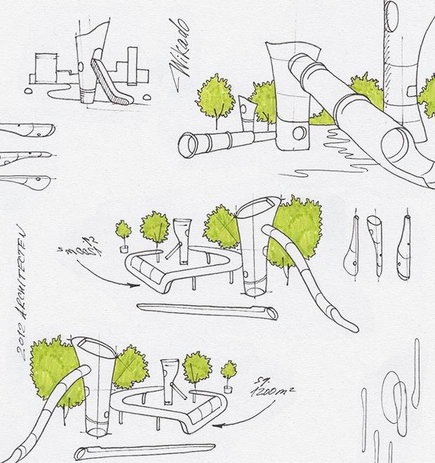 Идеи для города: Детская площадка из крыльев ветряной мельницы в Роттердаме — Город на The Village