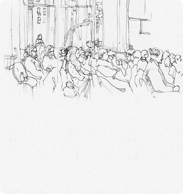 Клуб рисовальщиков: Лекция Линор Горалик — Клуб рисовальщиков на The Village