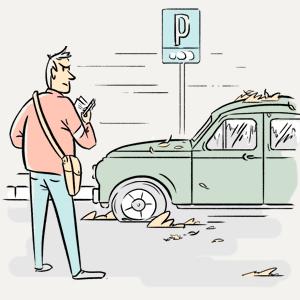 Что происходит с машинами, забытыми на платной парковке? — Есть вопрос на The Village