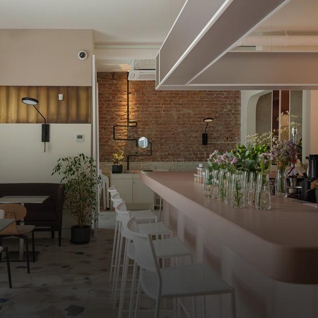 Идеальное городское кафе: Sight на Большой Зелениной улице — Место на The Village