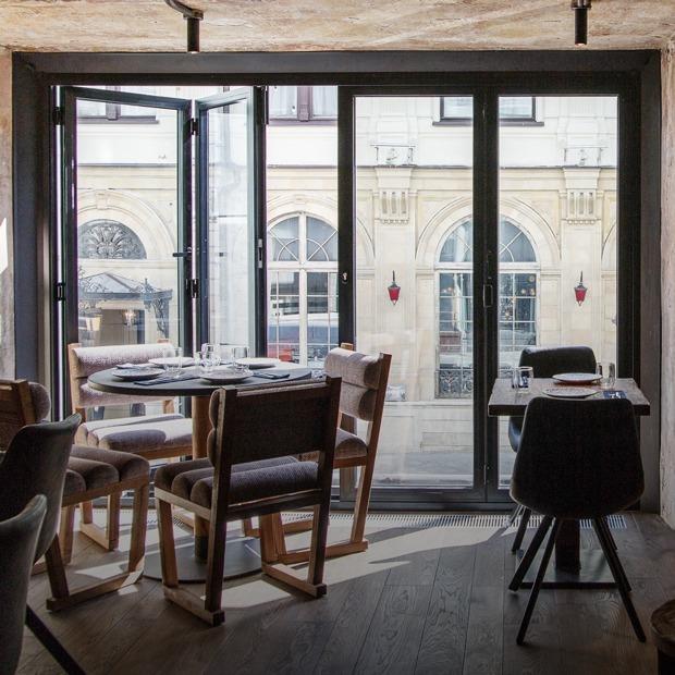Еда в потемках: Dante Bar + Kitchen на Кузнецком Мосту — Место на The Village