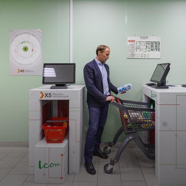 Кибермаркет: Как устроен магазин-лаборатория «Пятерочка» — Менеджмент на The Village
