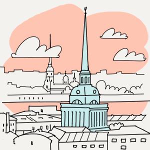 10 апреля  — Утро в Петербурге на The Village