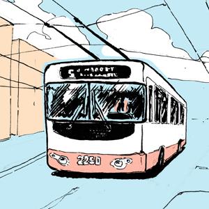 Есть вопрос: «Что будет, если троллейбус свернёт не туда?» — Есть вопрос на The Village