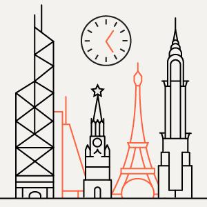 Когда просыпаются и ложатся спать города — Москва в цифрах на The Village