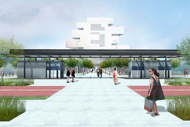 Каким будет парк на Ходынском поле — Архитектура на The Village
