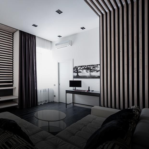 Квартира для Романа в чёрно-белых тонах — Квартира недели на The Village