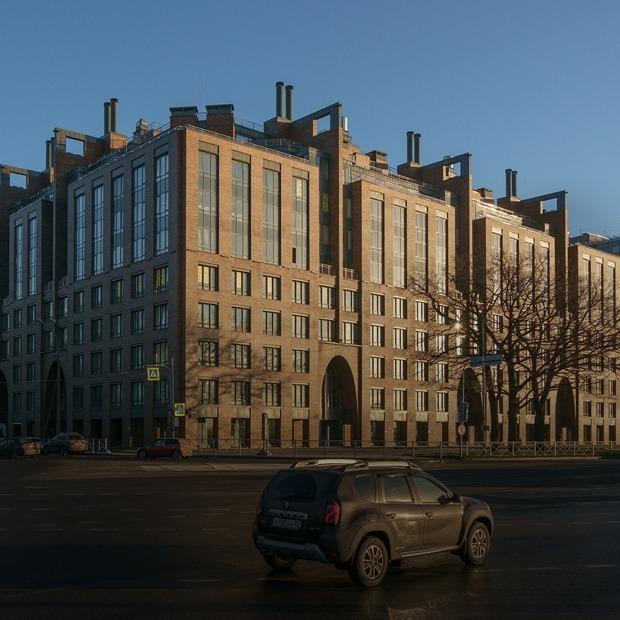 История самой красивой новостройки Петербурга — Архитектура на The Village