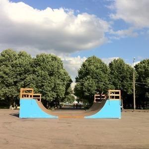 В парке Горького появилась мини-рампа и интернет на всей территории — Парк Горького на The Village