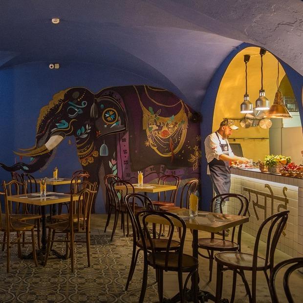 Пряности и радости: Bombay Cafe в «Голицын-лофте»  — Место на The Village