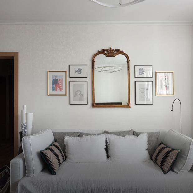 Типовая однушка в доме серии П-44 с отсылкой к Франции и стритфуду — Квартира недели на The Village