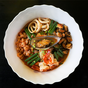 Рецепты корейский суп с лапшой