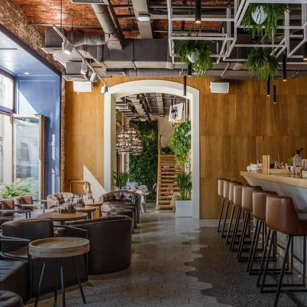 Мечты о пинчос: Little Garden Kitchen & Bar в Большом Кисельном — Место на The Village