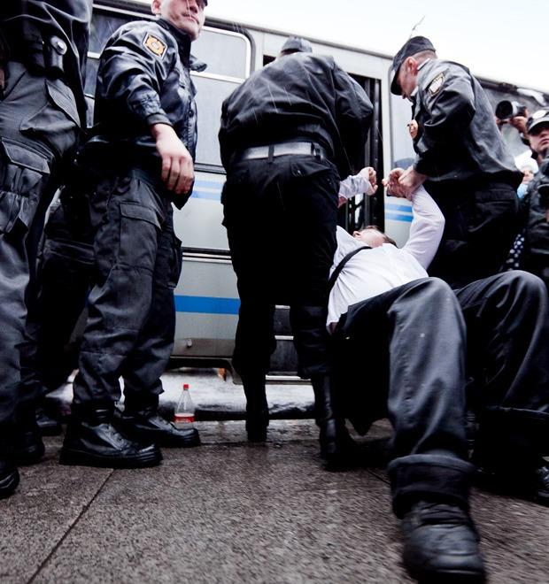 Фоторепортаж: «Народный сход» в поддержку Навального в Петербурге — Фоторепортаж на The Village