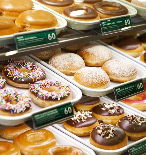 Пончиковая Krispy Kreme — Новое место на The Village