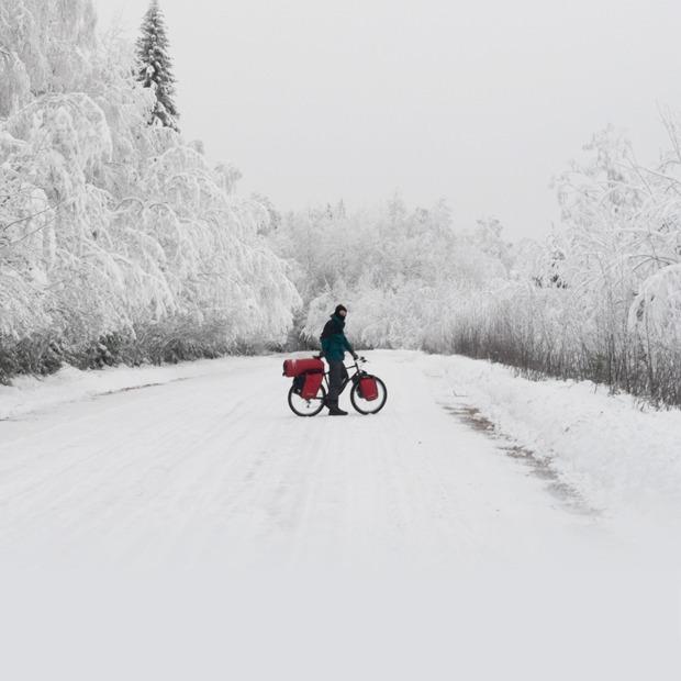 Как и зачем ехать в зимнее велопутешествие — Личный опыт на The Village