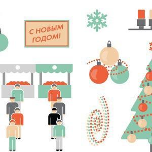 Праздник к нам приходит: Подготовка города к Новому году — Недвижимость на The Village