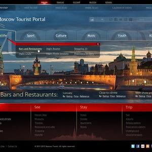 Московские власти представили три варианта сайта для туристов — Туризм на The Village