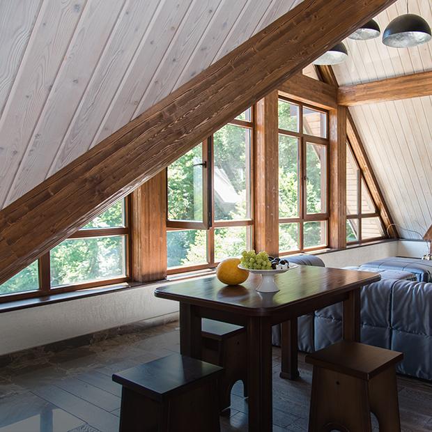Апартаменты в стиле альпийского шале в современной интерпретации — Квартира недели на The Village