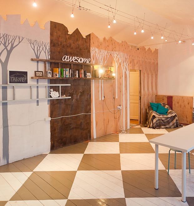 Офис недели (Петербург): T&P, «Сарафан PR» и пространство «Табурет» — Интерьер недели на The Village