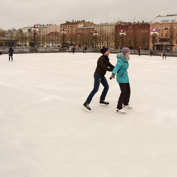 Где кататься на коньках в Петербурге — Гид The Village на The Village