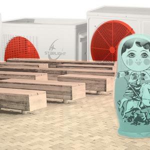 Итоги недели в Москве: иностранная реклама Москвы, «Комнаты спасения от жары», плитка в центре — Город на The Village
