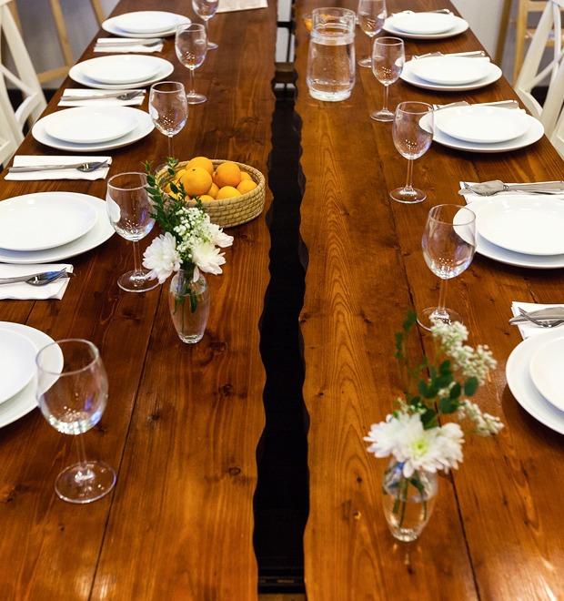 Интерьер недели (Петербург): Кулинарная школа «Красиво подано» — Интерьер недели на The Village