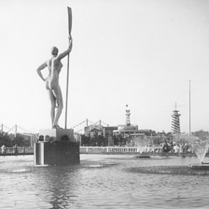 «Девушка с веслом» вернётся в парк Горького ко Дню города — Парк Горького на The Village