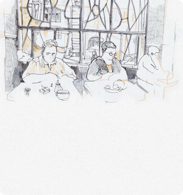 Клуб рисовальщиков: Бар «Пропаганда» — Клуб рисовальщиков на The Village
