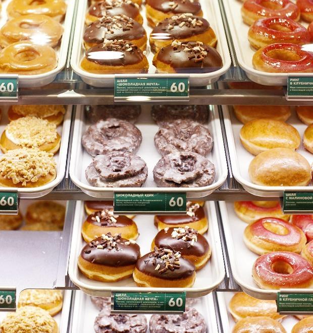 Саша Боярская о пончиковой Krispy Kreme — Любимое место на The Village