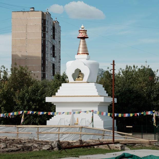 Буддийская ступа в Отрадном — Фоторепортаж на The Village