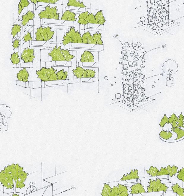 Идеи для города: Вертикальный лес в центре Милана