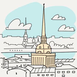 1 июля  — Утро в Петербурге на The Village