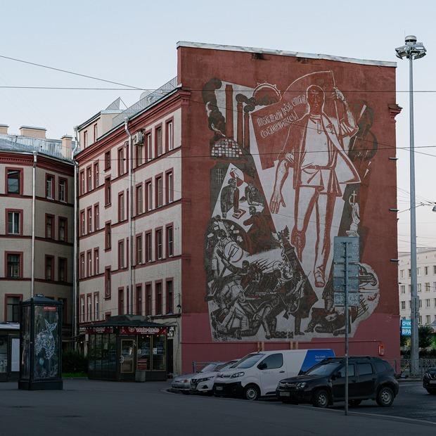 Раннесоветская архитектура авангарда на «Нарвской»  — Маршрут на The Village