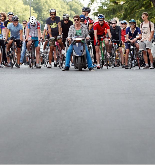 Люди в городе: Участники фестиваля «За велогород» — Люди в городе на The Village