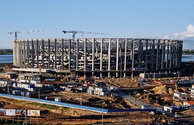 Как сейчас выглядит «Стадион Нижний Новгород» — Фоторепортаж на The Village