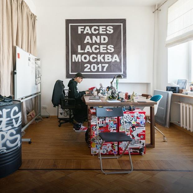 Как оборудовать офис в квартире? Посмотрите на студию Faces & Laces — Интерьер недели на The Village