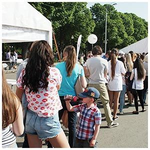 Как выглядит парк Горького в выходной день — Фоторепортаж на The Village